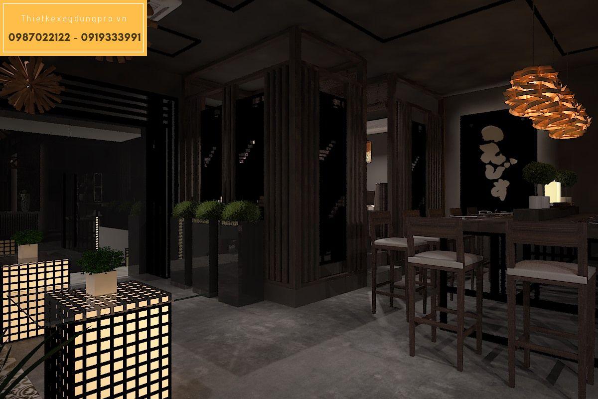 Báo giá thiết kế thi công nhà hàng
