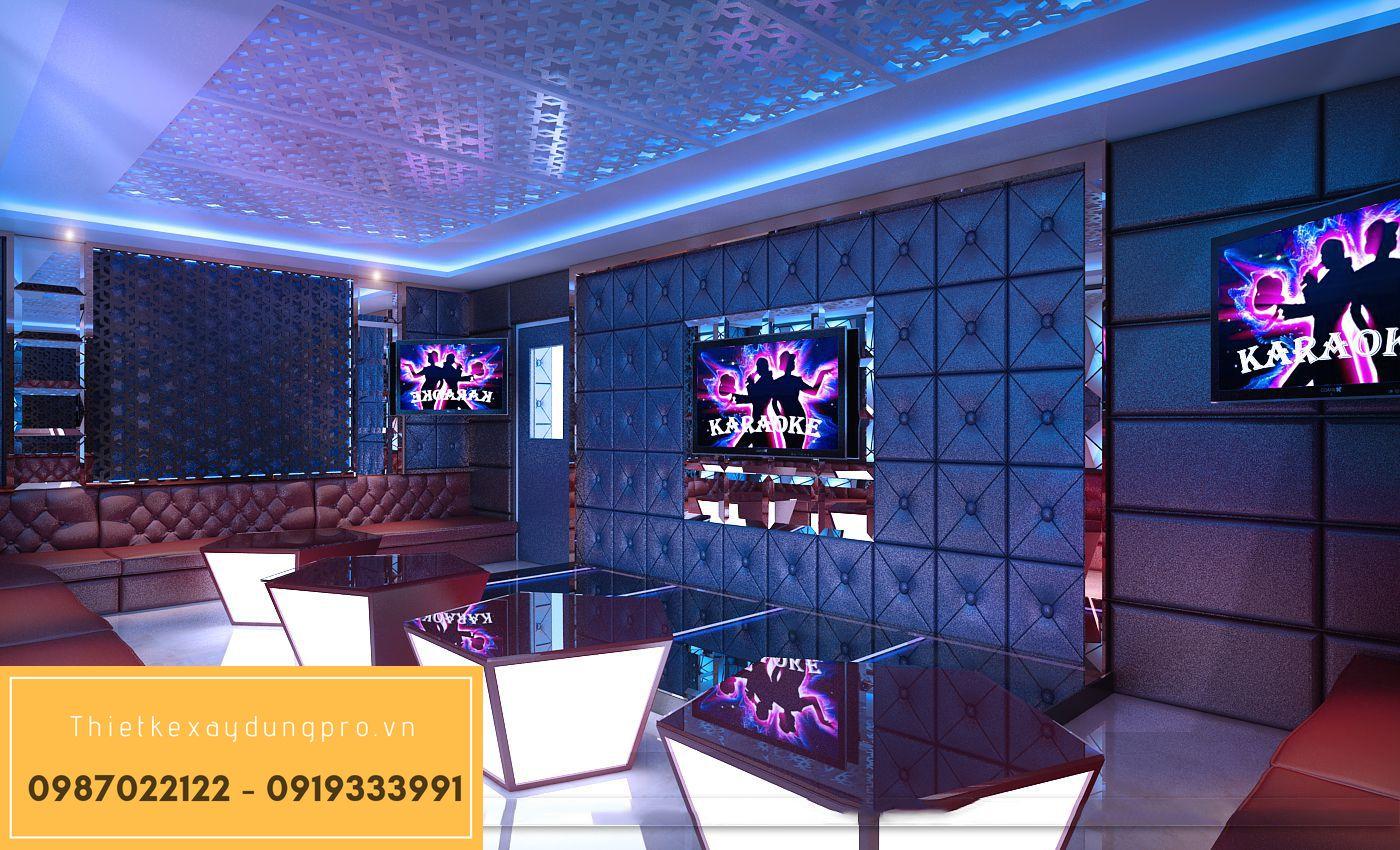 Thiết kế phòng karaoke hiện đại