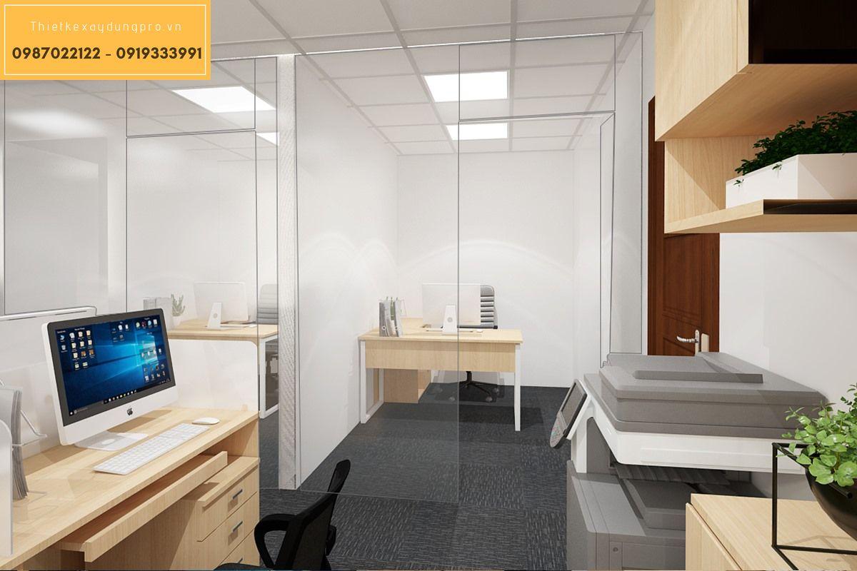 Mẫu thiết kế nội thất văn phòng
