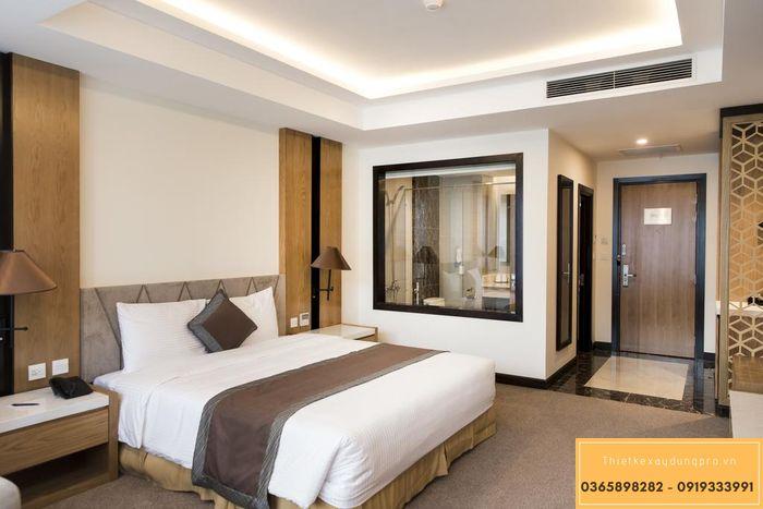 Thiết kế khách sạn mini 200m2