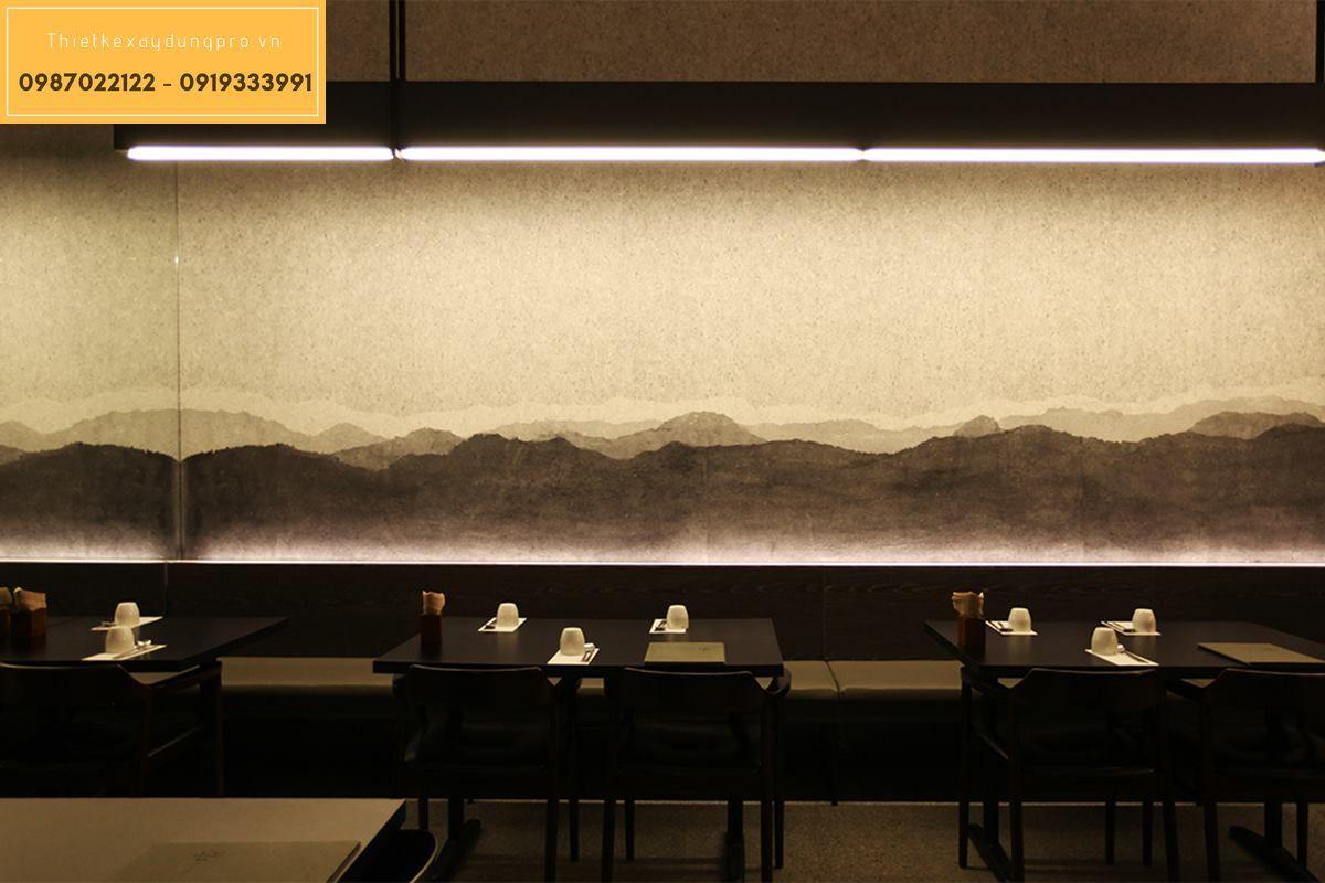 Không gian hài hòa theo phong cách Hàn