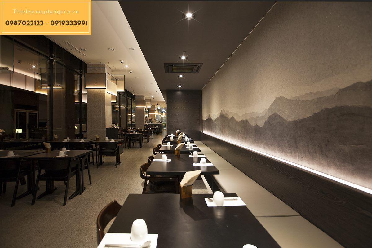 thiết kế nhà hàng hàn