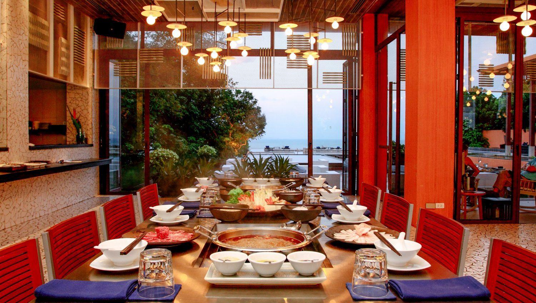 mẫu thiết kế nhà hàng ăn uống