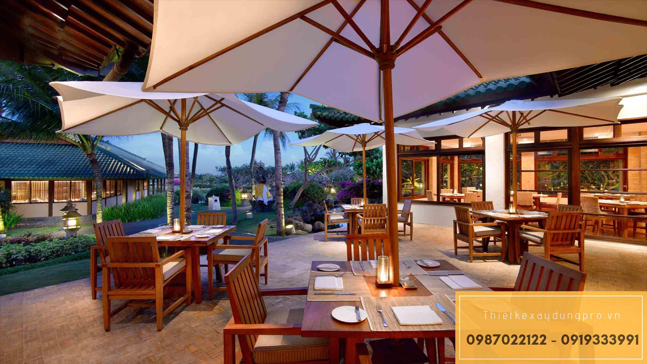 Thiết kế nhà hàng tại Hưng Yên