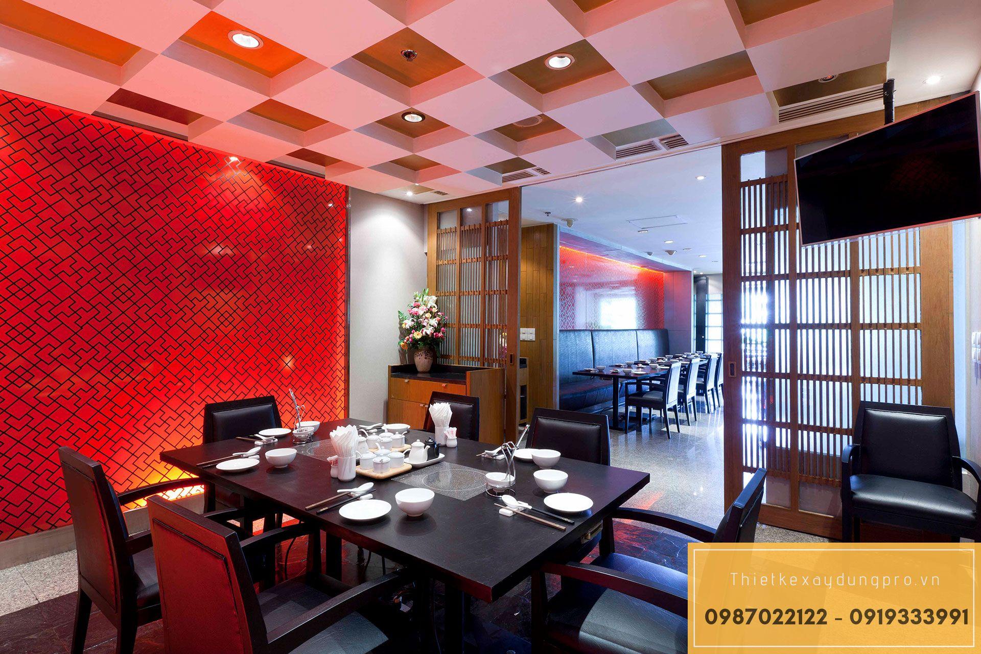 Thiết kế nhà hàng tại Vĩnh Phúc