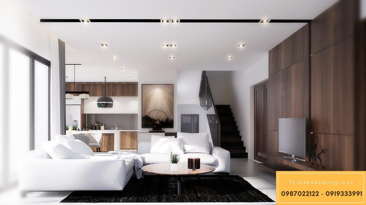 Thiết kế nội thất biệt thự mini