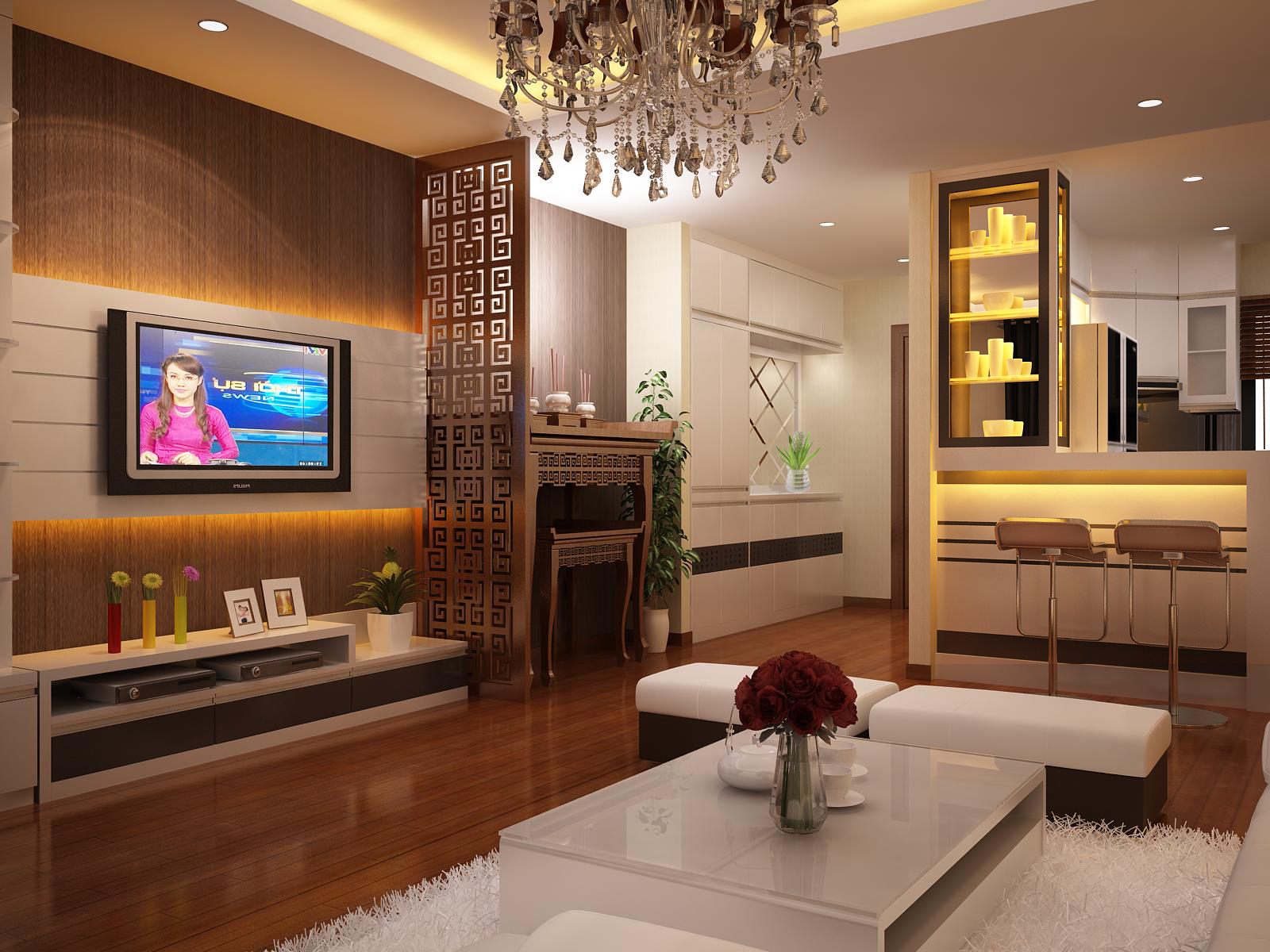 Thiết kế nội thất chung cư mini đẹp