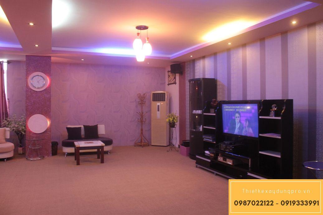 Thiết kế phòng karaoke gia đình