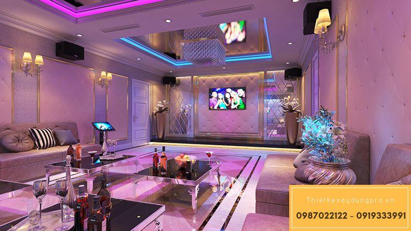 Thiết kế phòng karaoke bình dân