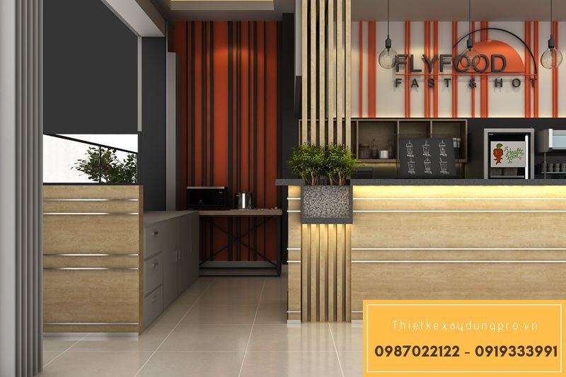 Thiết kế nội thất nhà hàng ăn nhanh
