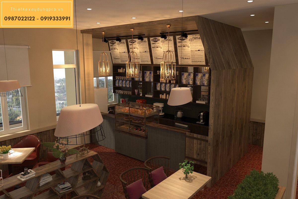 thiết kế nội thất nhà hàng châu âu