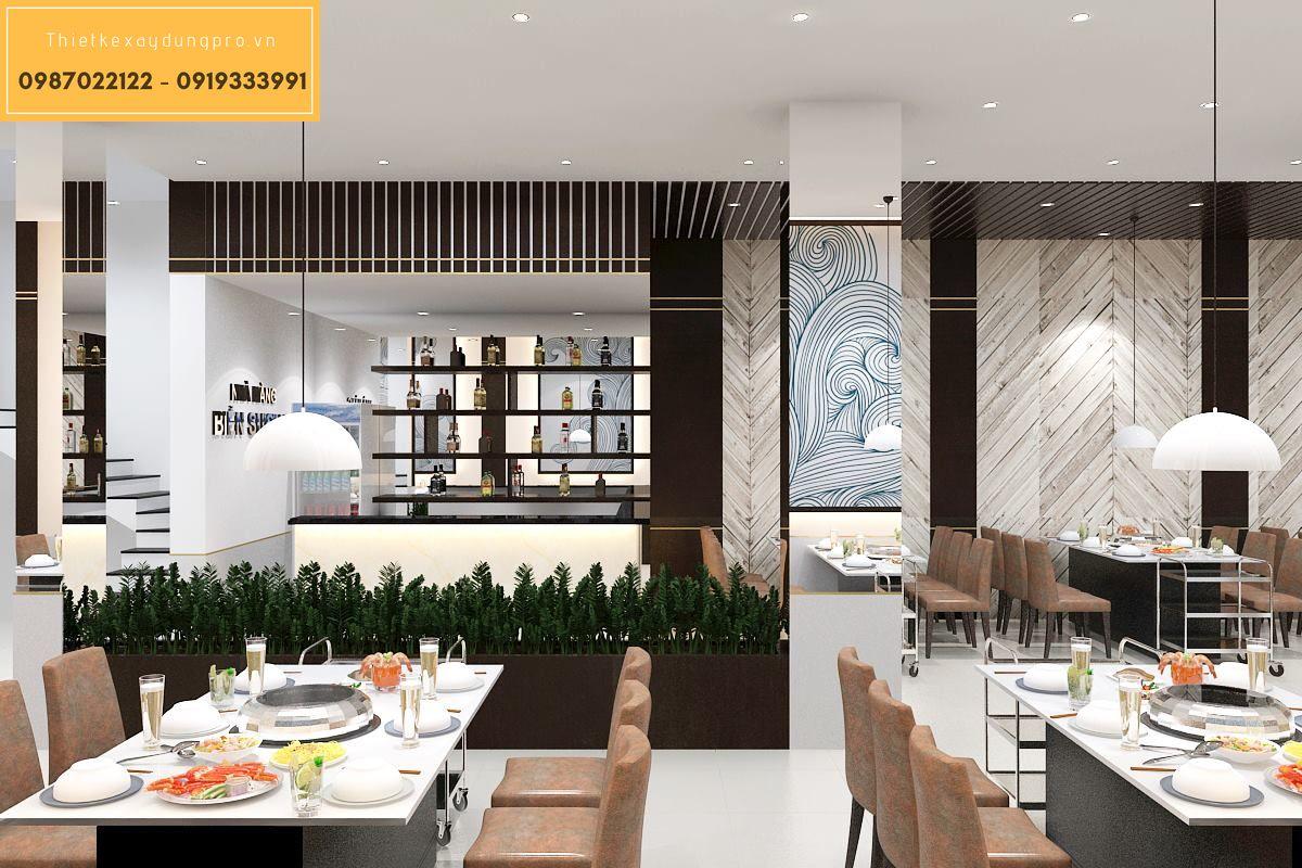 Thiết kế nhà hàng lẩu