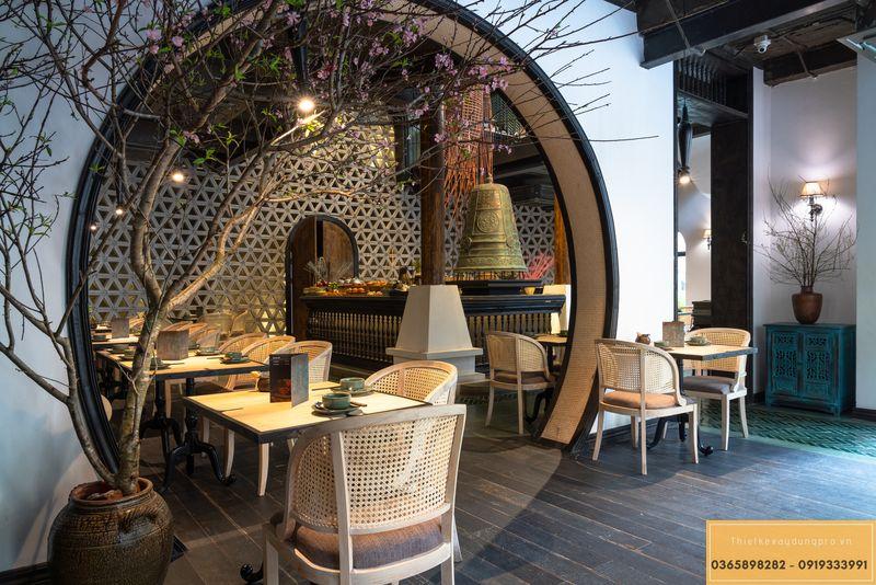 Mẫu thiết kế nhà hàng Nhật độc đáo - View 6