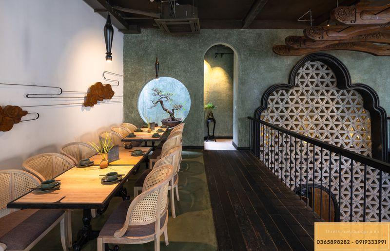 Mẫu thiết kế nhà hàng Nhật độc đáo - View 3