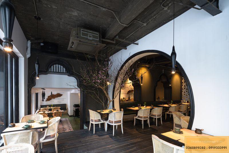 Mẫu thiết kế nhà hàng Nhật độc đáo - View 4