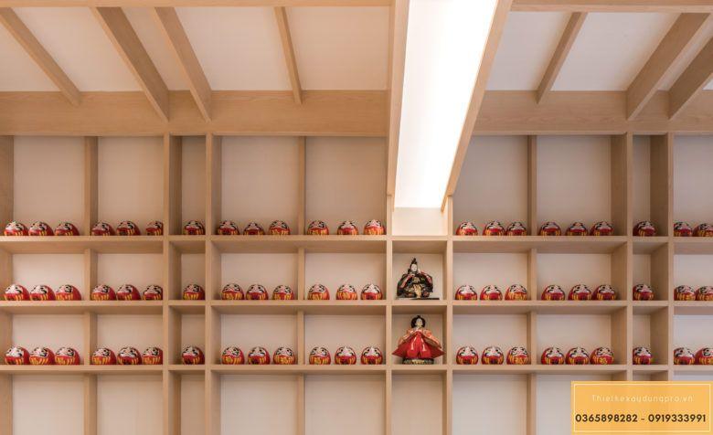Mẫu thiết kế nội thất nhà hàng Nhật truyền thống - View 4