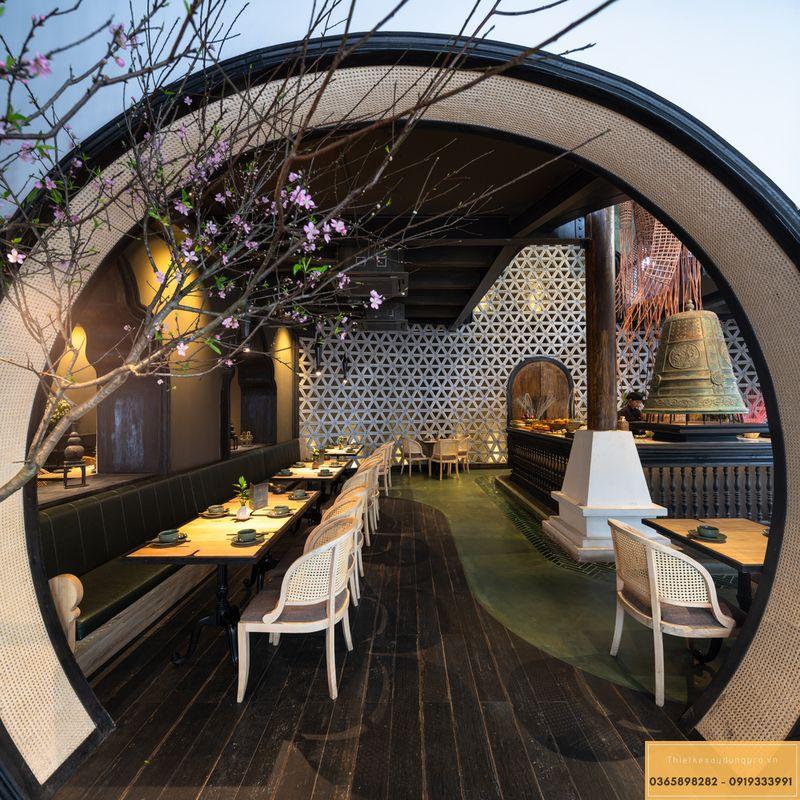 Mẫu thiết kế nhà hàng Nhật độc đáo - View 5
