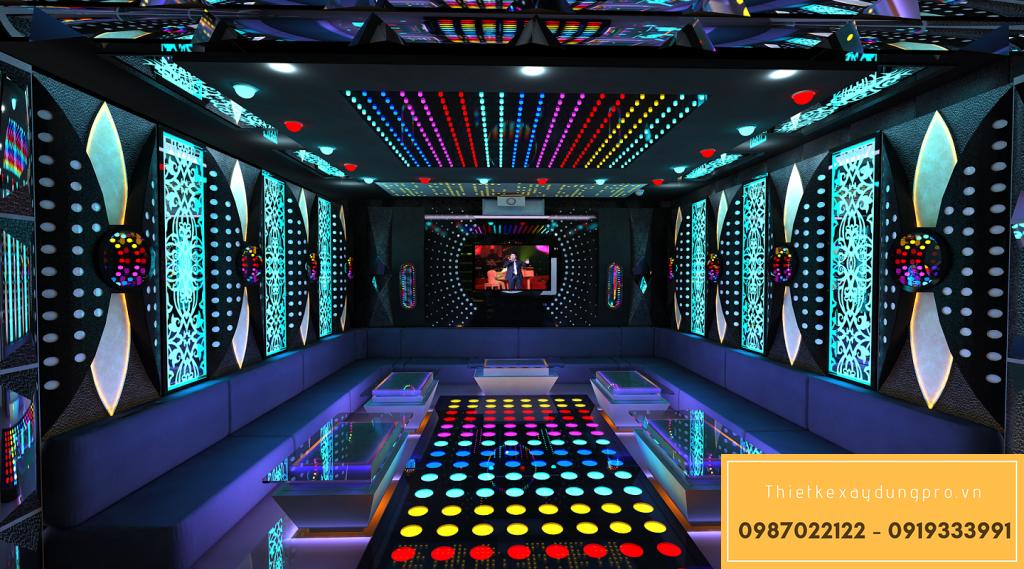 Thiết kế nội thất phòng karaoke VIP