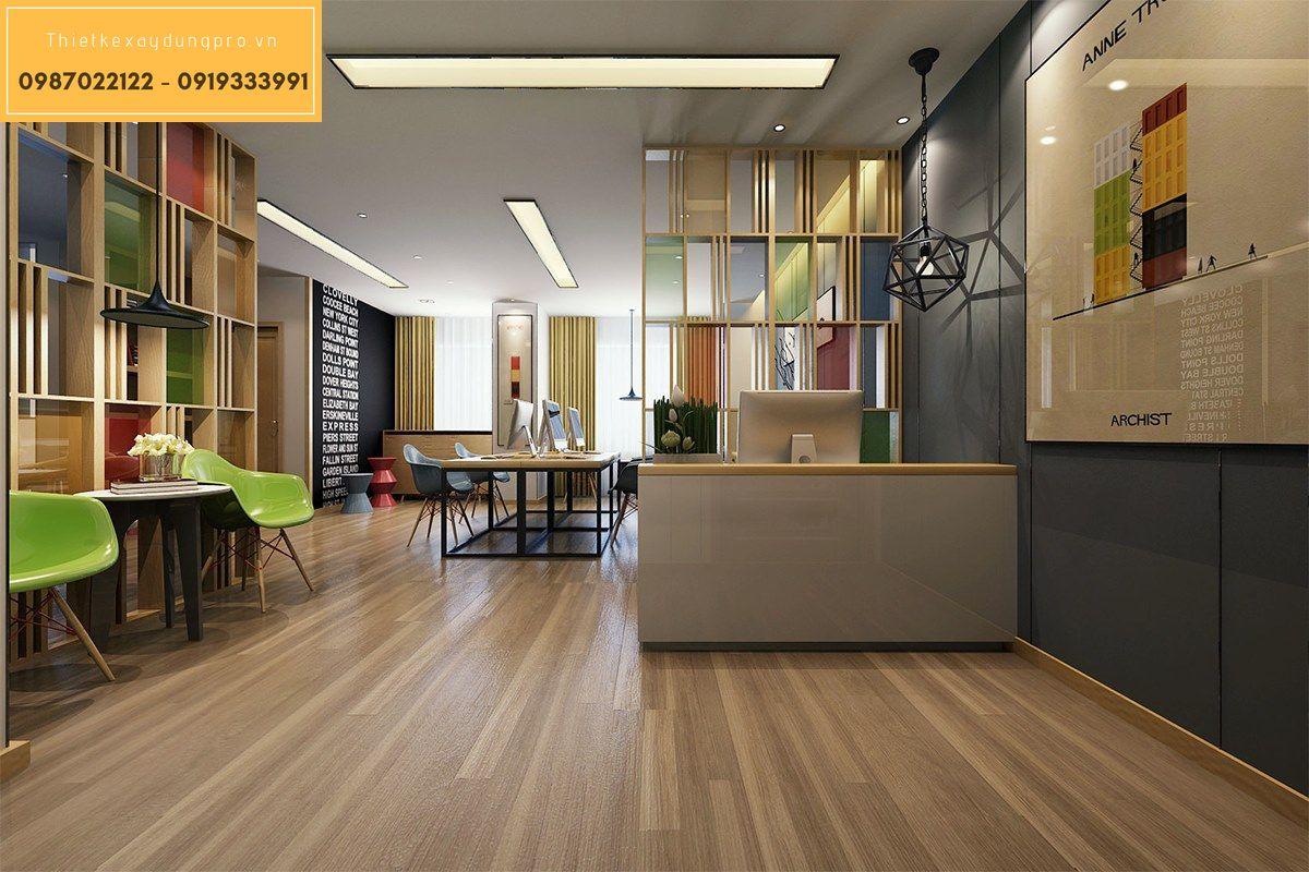 Thiết kế nội thất văn phòng chung cư