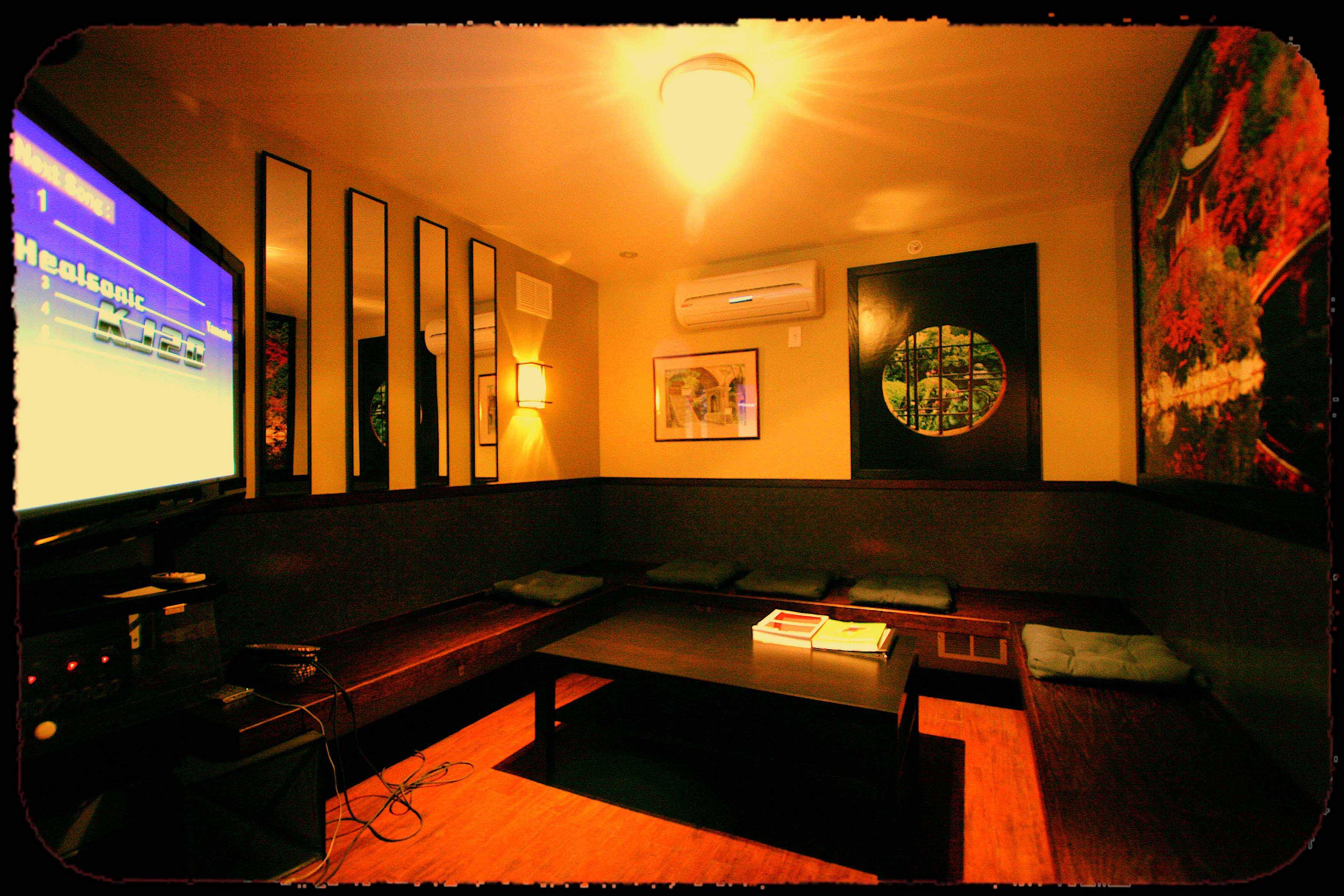 trang trí phòng karaoke bình dân