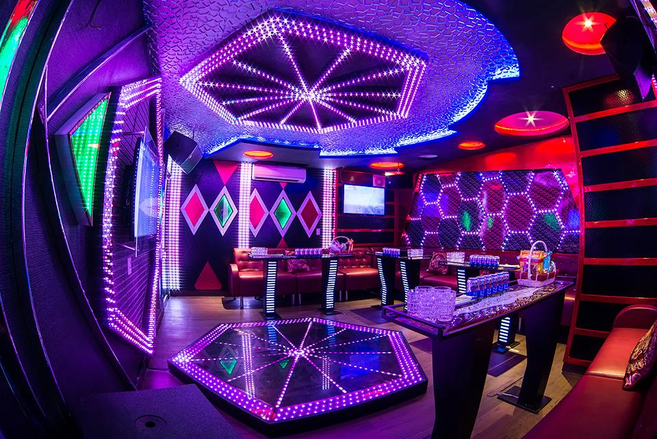 thiết kế phòng karaoke diện tích nhỏ