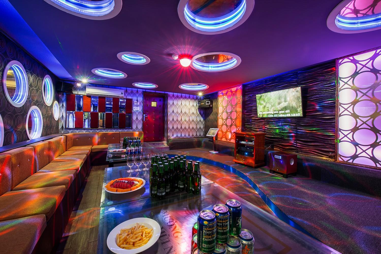Thiết kế phòng karaoke sang trọng