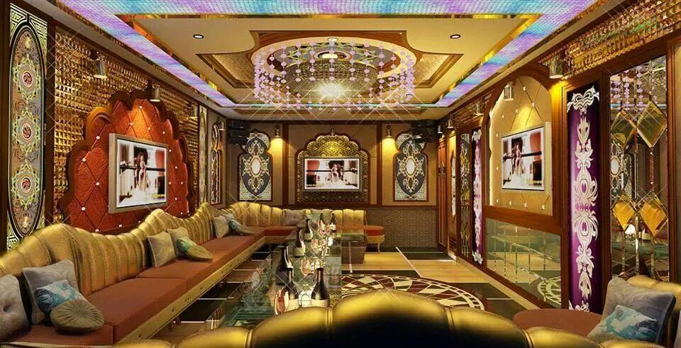 thiết kế karaoke phòng VIP