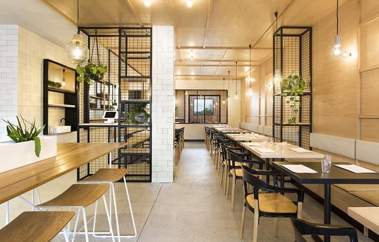Thiết kế quán cafe mini
