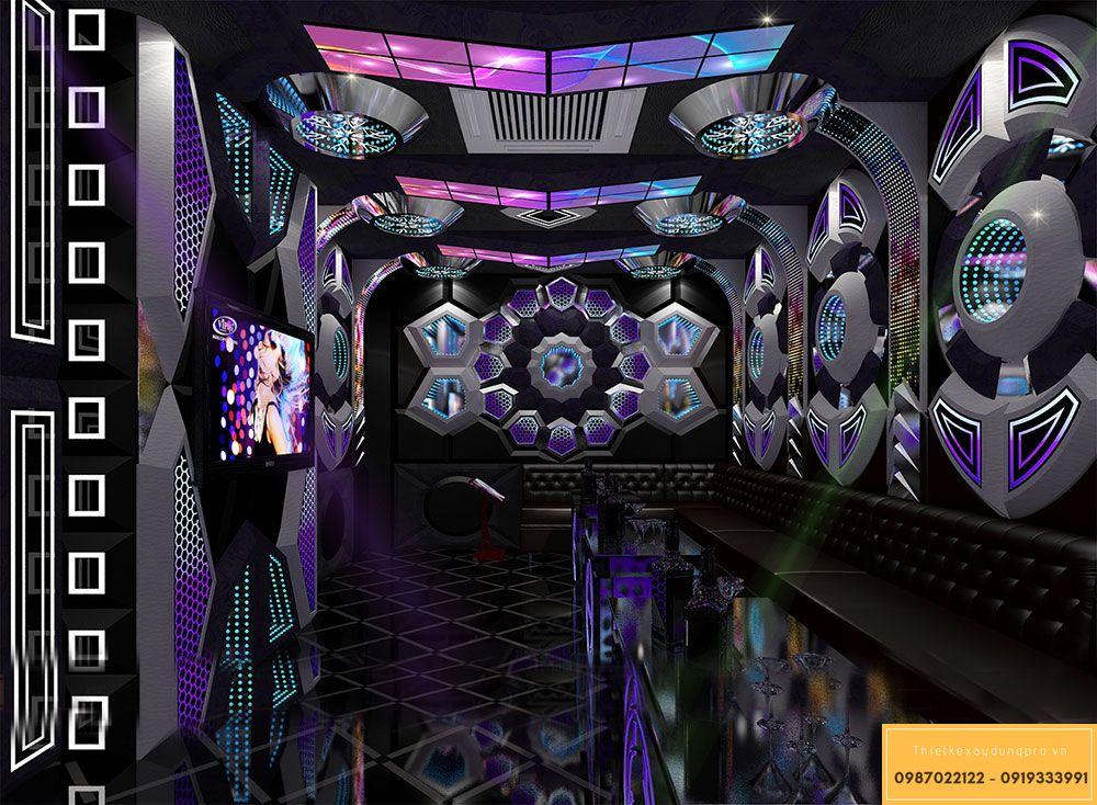 giá thiết kế thi công phòng karaoke