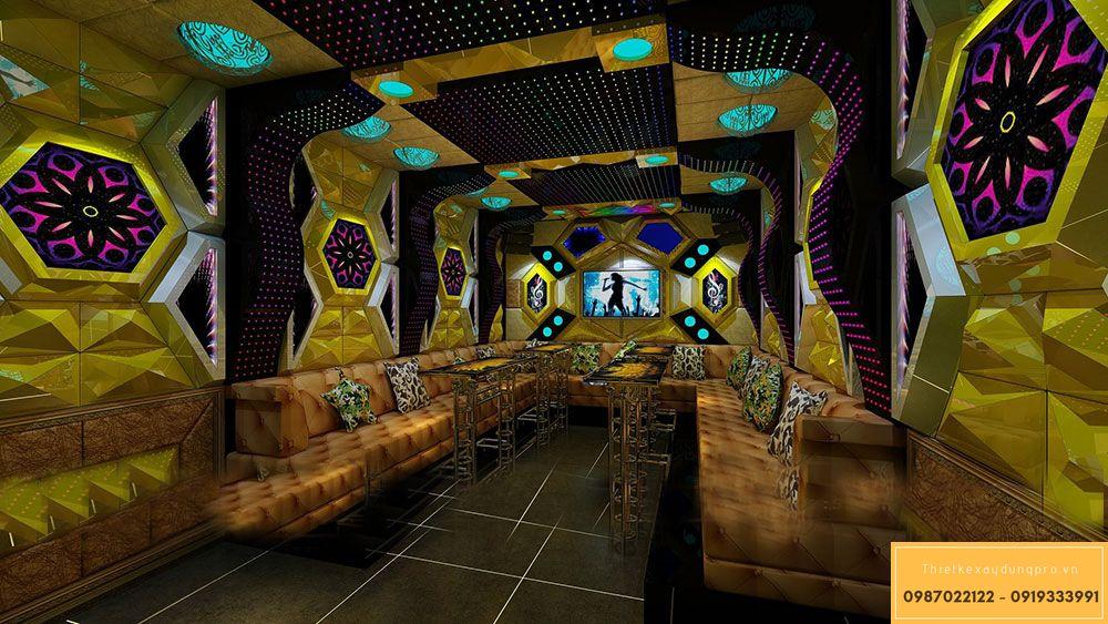 Thiết kế xây dựng phòng karaoke