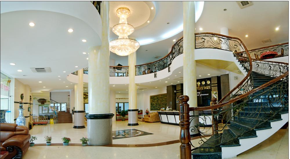thiết kế sảnh khách sạn đẹp