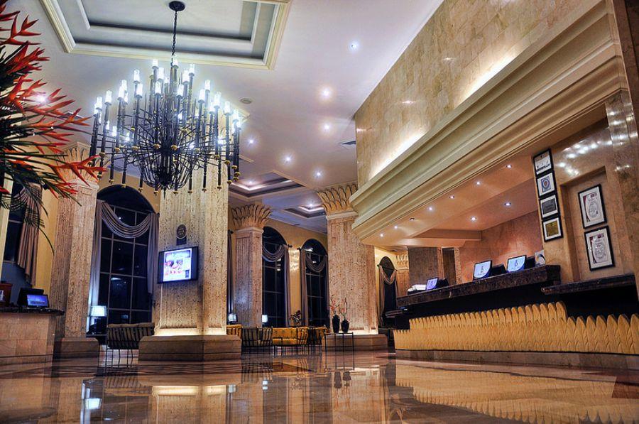 Thiết kế sảnh khách sạn mini