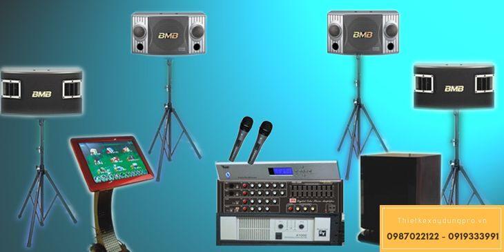 Dàn karaoke vi tính cảm ứng giá bao nhiêu