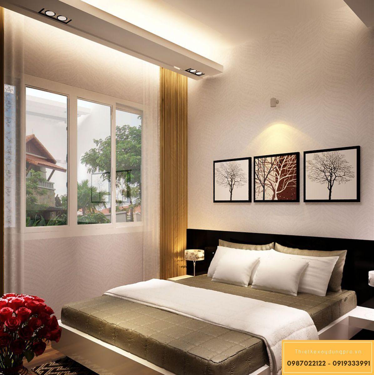 Kích thước phòng ngủ tiêu chuẩn