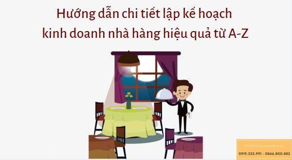 Kế hoạch kinh doanh nhà hàng