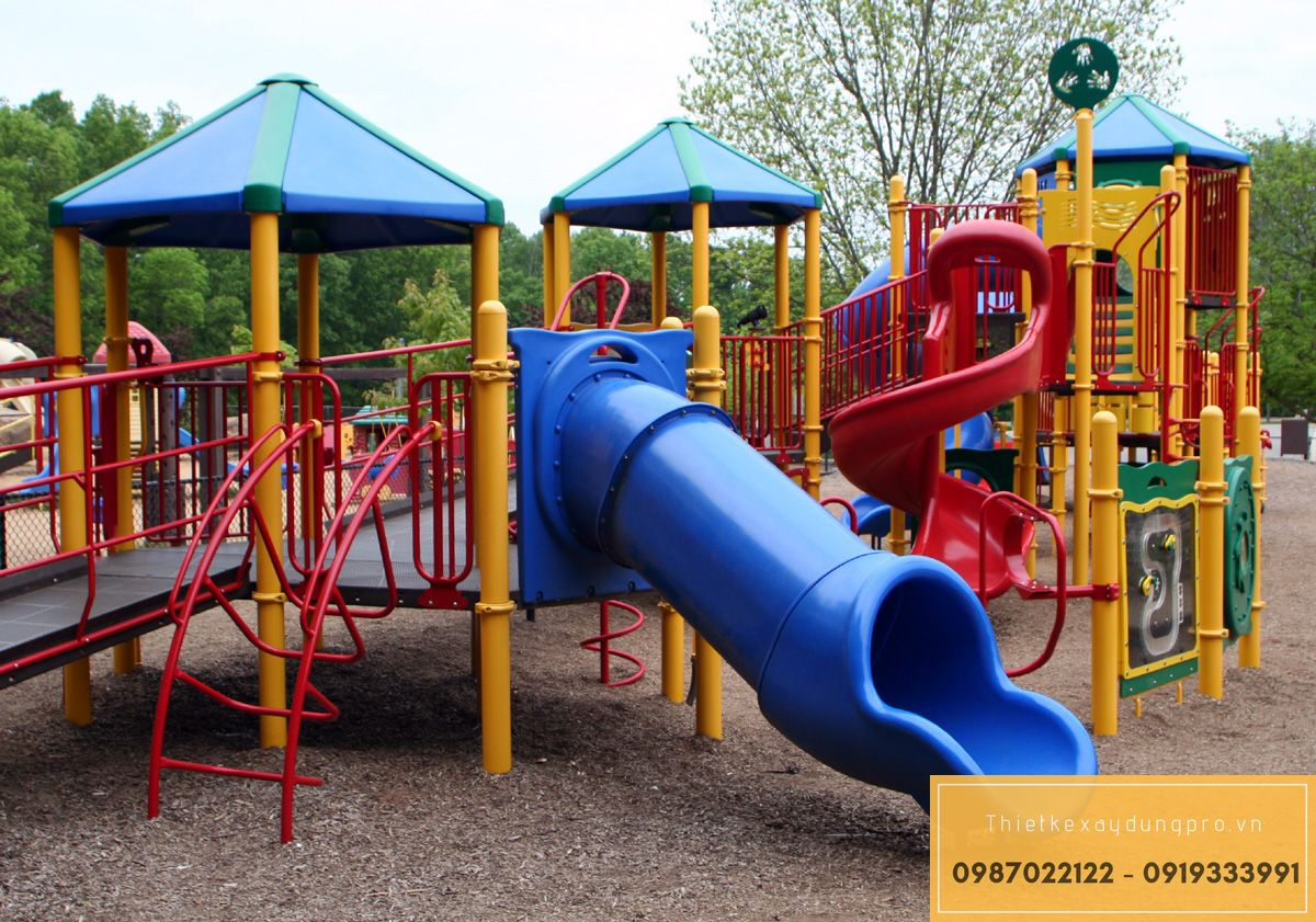 Thi công sân chơi trẻ em