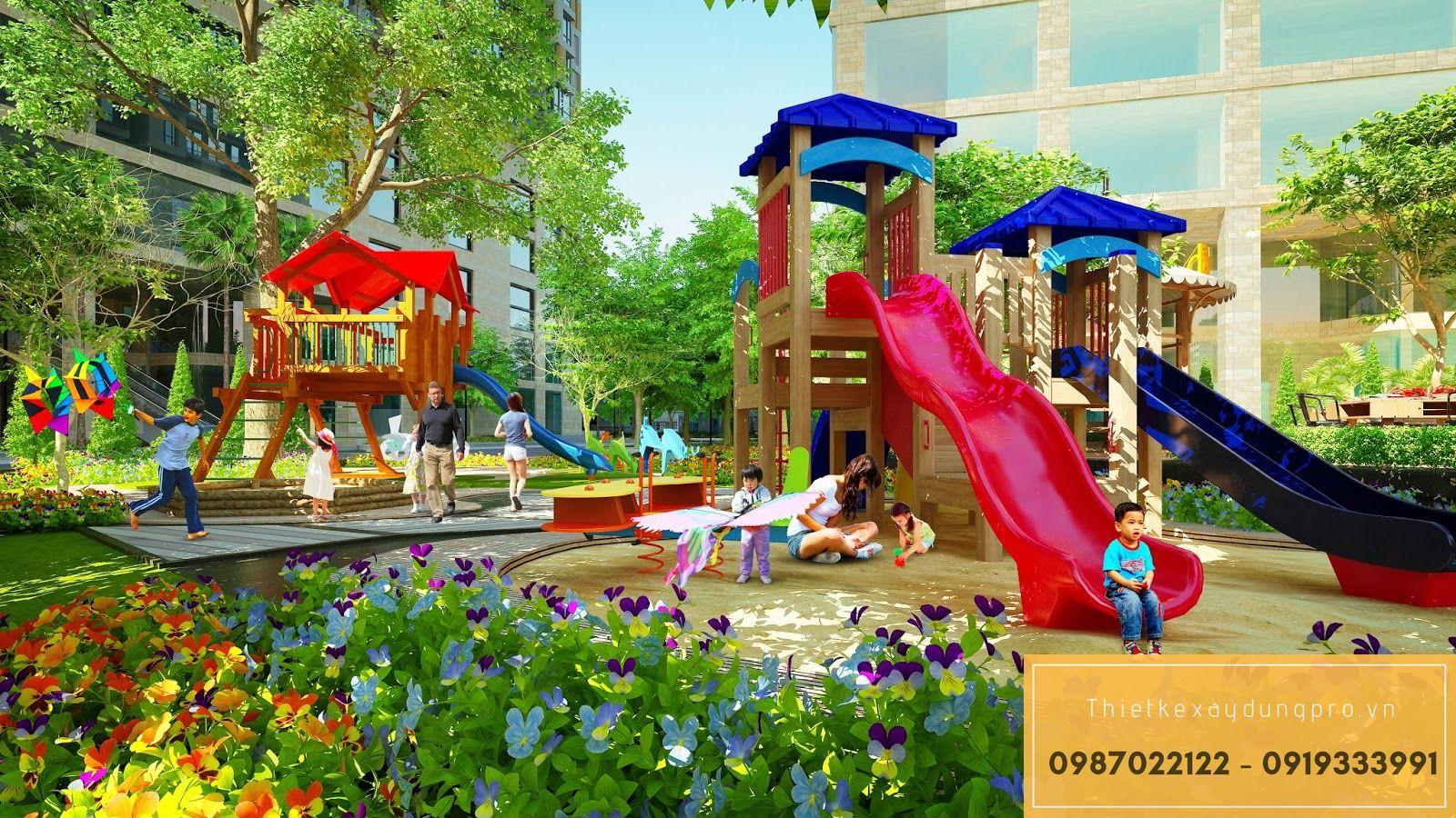 Thiết kế khu vui chơi trẻ em tại Hưng Yên