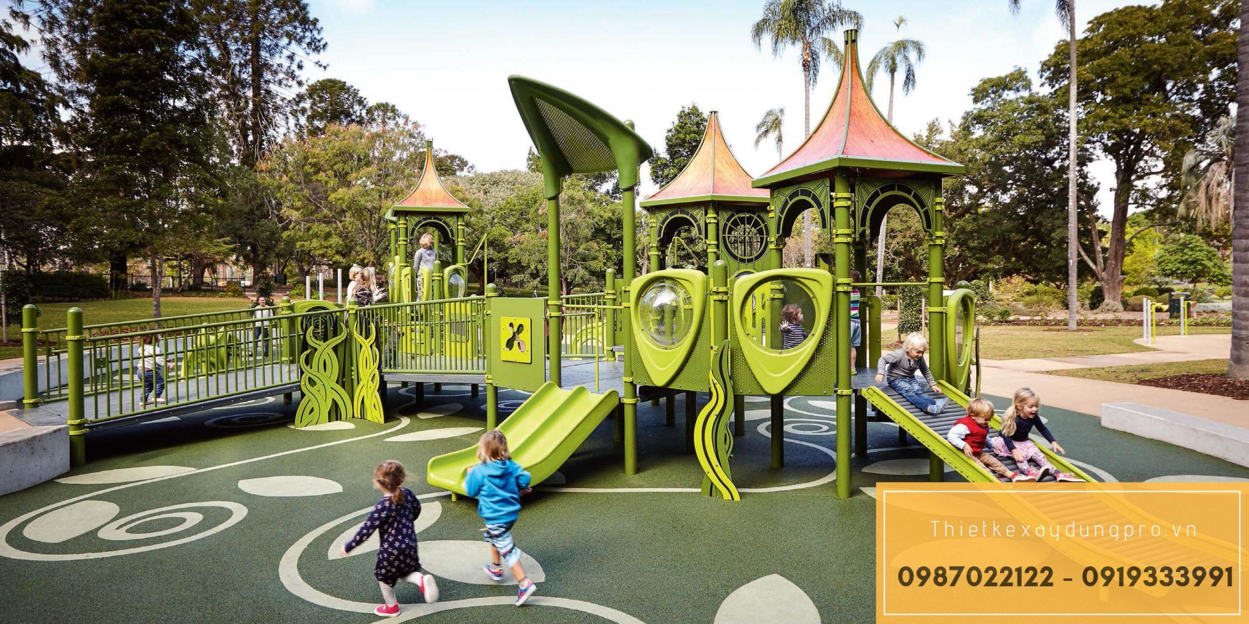 Thiết kế khu vui chơi trẻ em tại Nam Định