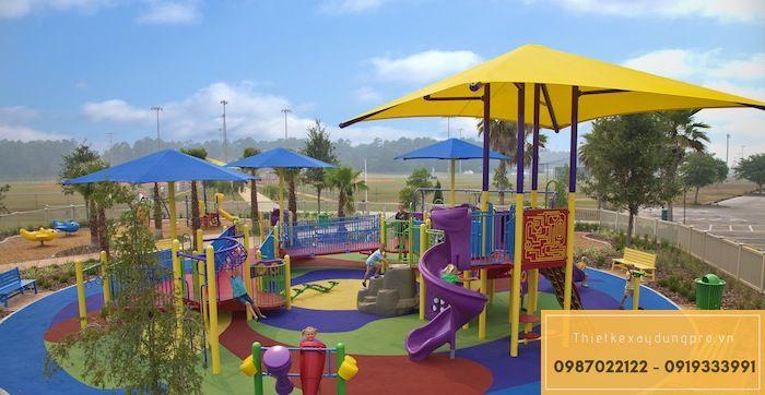 Thiết kế khu vui chơi trẻ em tại Nghệ An