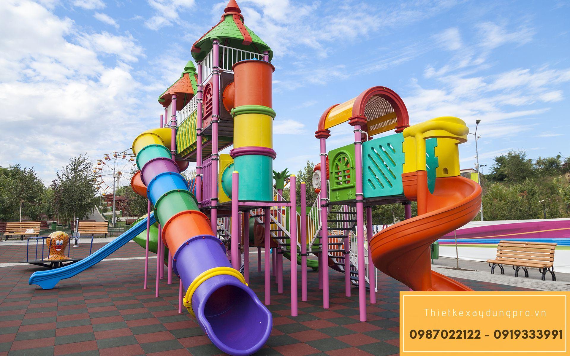 Thiết kế khu vui chơi trẻ em tại Thái Nguyên