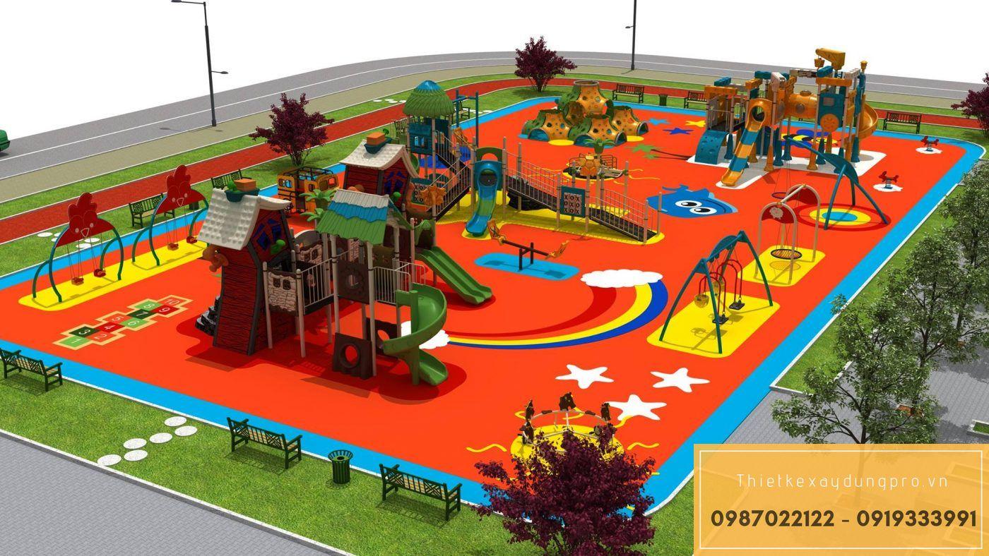 Thiết kế khu vui chơi trẻ em tại Thanh Hóa