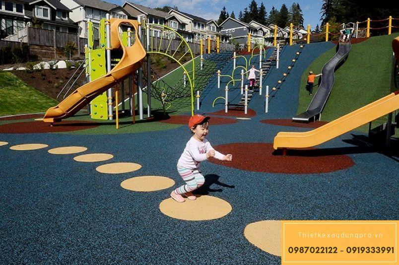 Thiết kế khu vui chơi trẻ em tại Ninh Bình